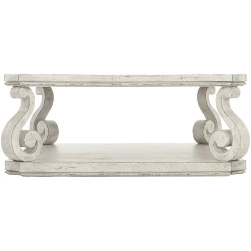 Bernhardt - Mirabelle Square Cocktail Table in Cotton (304)