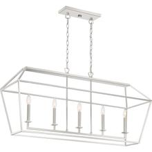 See Details - Aviary Island Chandelier in Polished Nickel