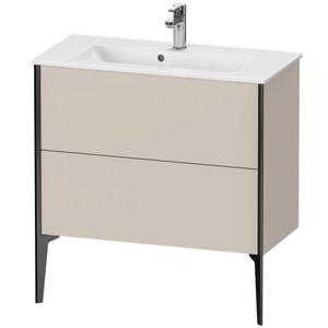 Vanity Unit Floorstanding Compact, Taupe Matte (decor)