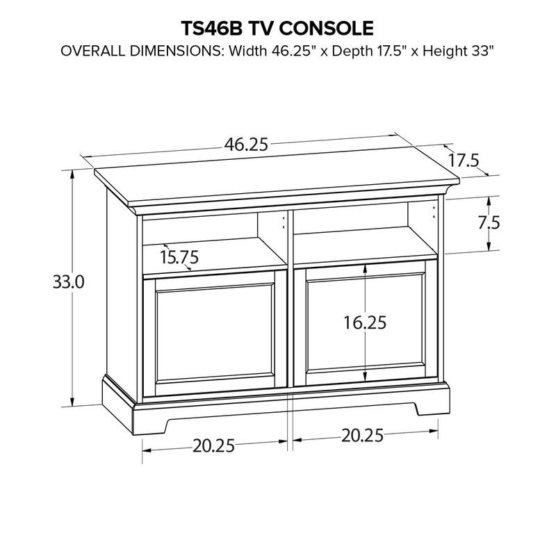 TS46B Custom TV Console