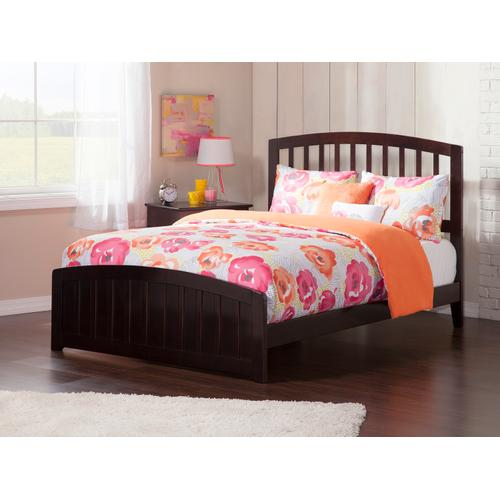 Richmond Full Bed with Matching Foot Board in Espresso