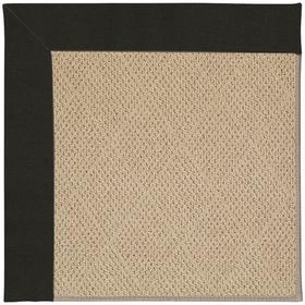 "Creative Concepts-Cane Wicker Canvas Black - Rectangle - 24"" x 36"""