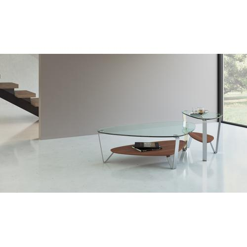 BDI Furniture - Dino 1347 End Table in Natural Walnut