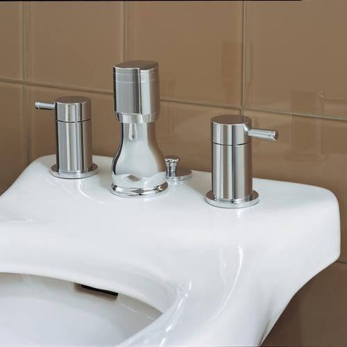 Serin 2-Handle Bidet Faucet - Polished Chrome
