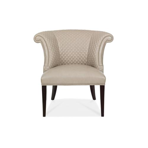 6025-Q KYRA QUILTED BACK CHAIR