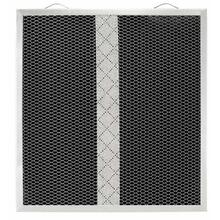 "Non-Ducted Replacement Charcoal Filter 13.680"" x 12.850"" x 0.375"""