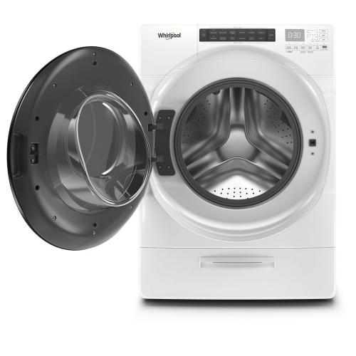 Whirlpool Canada - 5.2 cu. ft. I.E.C. Closet-Depth Front Load Washer with Load & Go™ XL Dispenser
