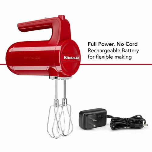 KitchenAid Canada - 7 Speed Cordless Hand Mixer - Empire Red