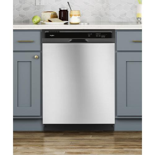 Gallery - Heavy-Duty Dishwasher with 1-Hour Wash Cycle Stainless Steel