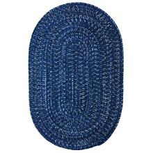 Team Spirit Blue Black Braided Rugs