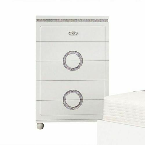 ACME Vivaldi Chest - 20246 - White High Gloss