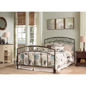 Wendell Full Bed Set Textured Black