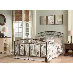 Gallery - Wendell Full Bed Set Textured Black