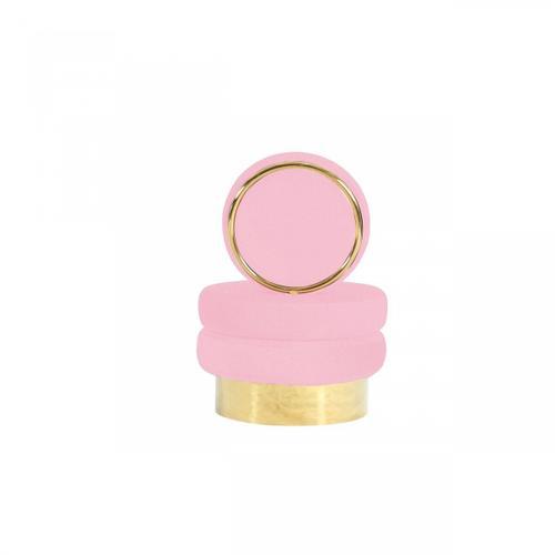 VIG Furniture - Modrest Fleming - Modern Pink Velvet & Gold Accent Chair