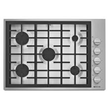 "Pro-Style® 30"" 5-Burner Gas Cooktop Pro Style Stainless"