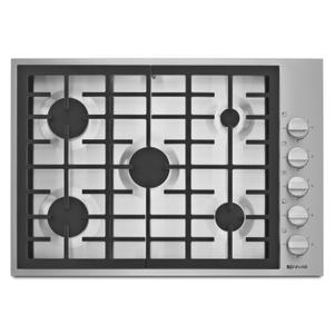 "Jenn-AirPro-Style® 30"" 5-Burner Gas Cooktop Pro Style Stainless"