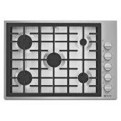 "Pro-Style(R) 30"" 5-Burner Gas Cooktop Pro Style Stainless"