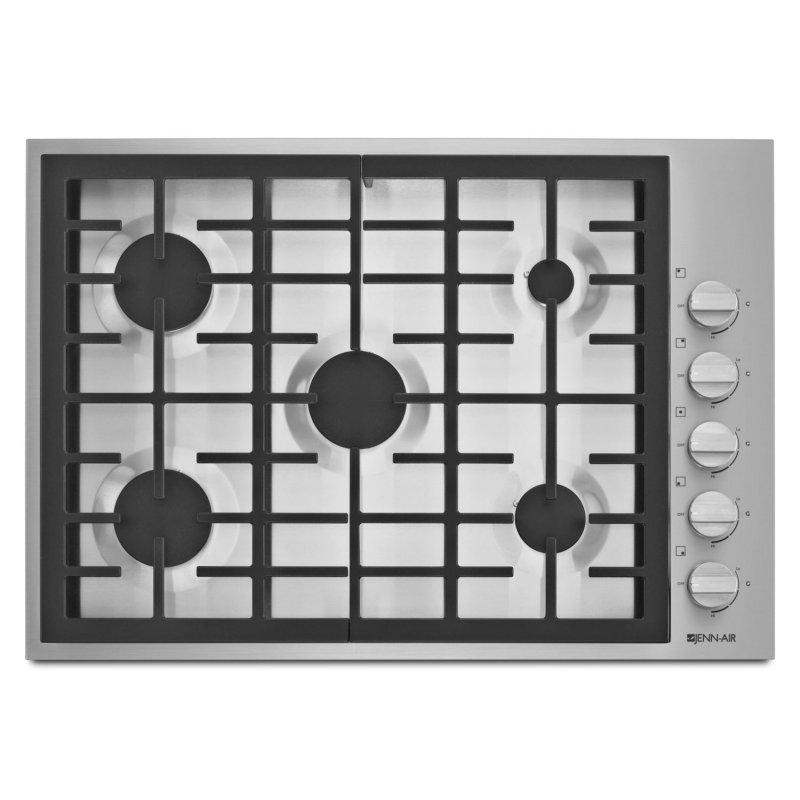 """Pro-Style® 30"""" 5-Burner Gas Cooktop Pro Style Stainless"""