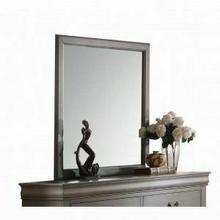 ACME Louis Philippe Mirror - 23864 - Antique Gray