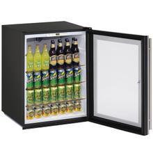 "See Details - 24"" Refrigerator With Stainless Frame Finish (115 V/60 Hz Volts /60 Hz Hz)"