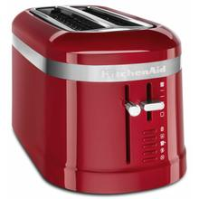 See Details - 4 Slice Long Slot Toaster with High-Lift Lever - Empire Red