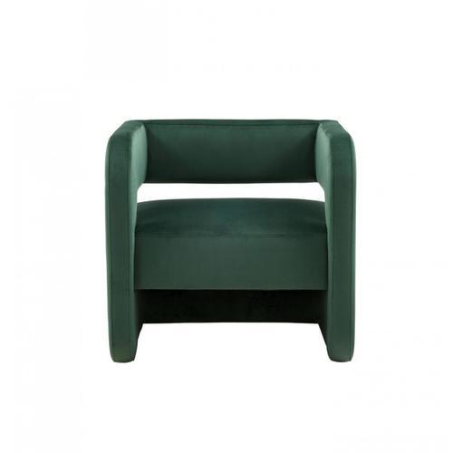 Gallery - Modrest Brenda Modern Dark Green Accent Chair