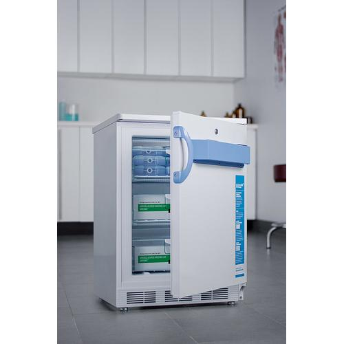Built-in Undercounter Medical/scientific -25 c Capable All-freezer With Front Control Panel Equipped With A Digital Thermostat and Nist Calibrated Thermometer/alarm