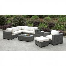 See Details - Somani L-sectional + Chair + Ottoman + Coffee Table