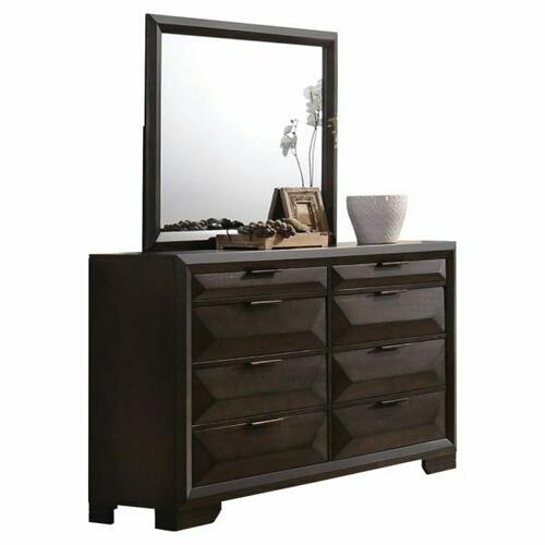 ACME Merveille Mirror - 22874 - Espresso