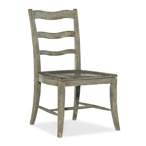 Dining Room Alfresco La Riva Ladder Back Side Chair - 2 per carton/price ea