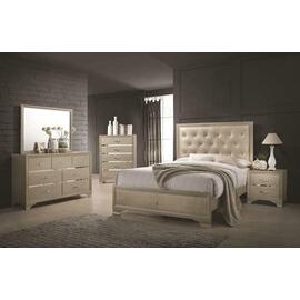 Beaumont Transitional Champagne Queen Four-piece Set