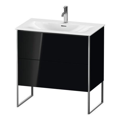 Duravit - Vanity Unit Floorstanding, Black High Gloss (lacquer)