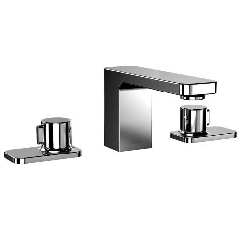 Kiwami® Renesse® Widespread Lavatory Faucet, with Pop-up Drain - Polished Chrome Finish