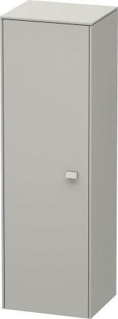 Semi-tall Cabinet, Concrete Gray Matte (decor) Product Image