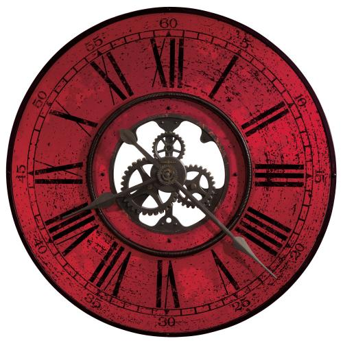 Howard Miller Brassworks II Metal Oversized Wall Clock 625569