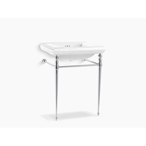 Polished Chrome Console Table Legs for K-2259 Memoirs Sink
