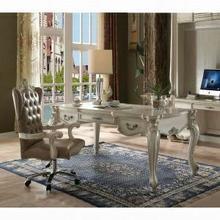 ACME Versailles Executive Desk (Leg) - 92275 - Bone White