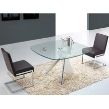 The Urban High Gloss White Lacquer Dining Tables