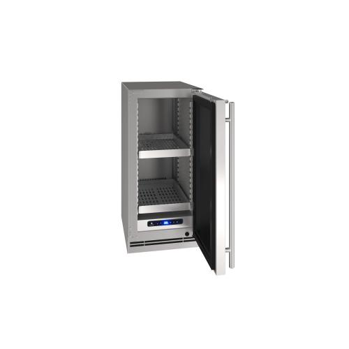 "15"" Refrigerator With Stainless Solid Finish (230 V/50 Hz Volts /50 Hz Hz)"