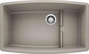 Performa Cascade Super Single Bowl - Concrete Gray Product Image