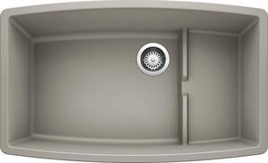 Performa Cascade Super Single Bowl - Concrete Gray Product Image