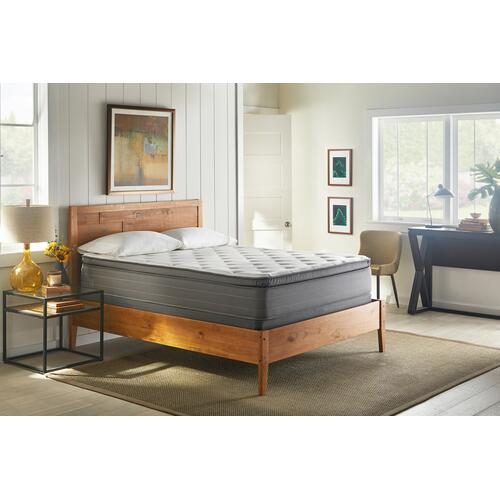 "American Bedding 14"" Plush Pillow Top Mattress, King"