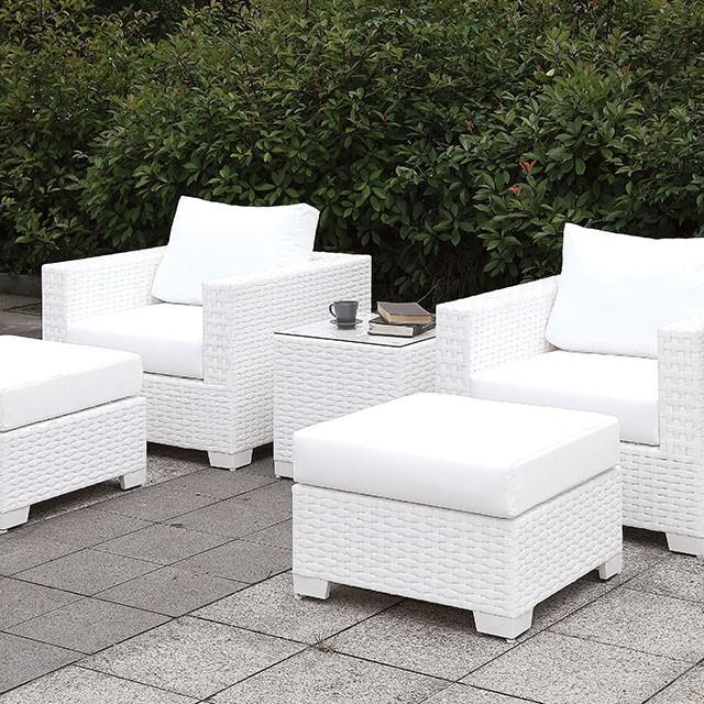 Somani 2 ChairS + 2 OttomanS + End Table