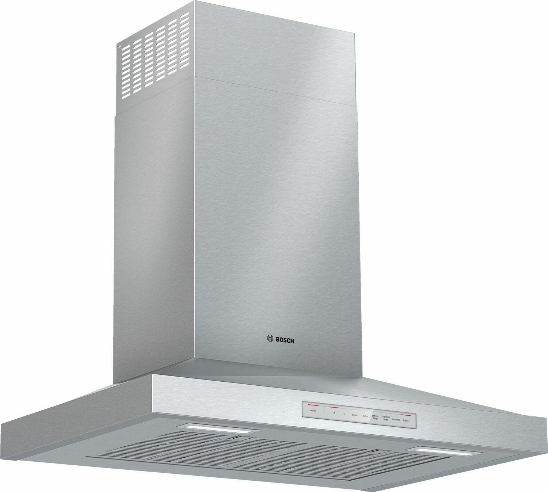 Bosch500 Series Wall Hood 30'' Stainless Steel Hcp50652uc