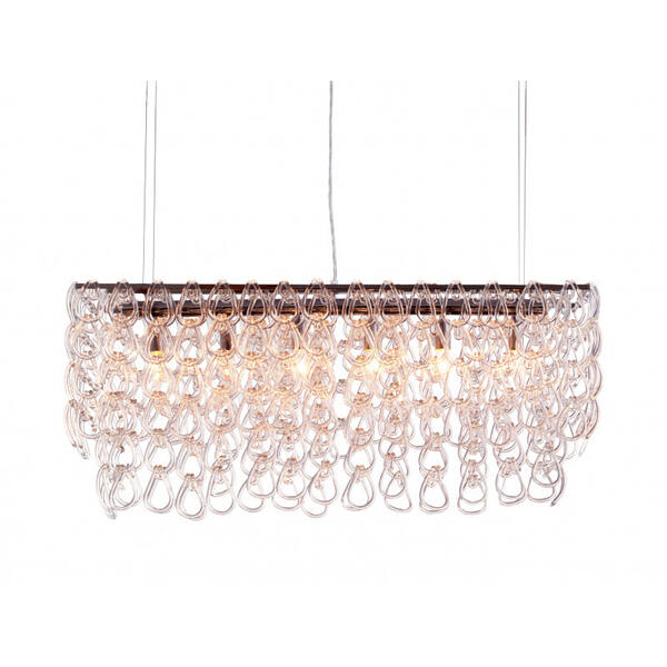 Jet Stream Ceiling Lamp Clear