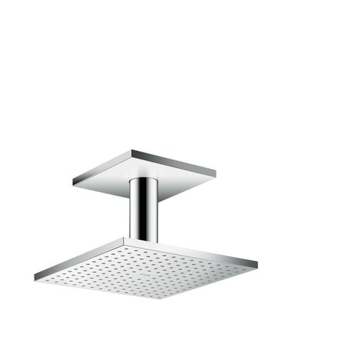 Chrome Overhead shower 250/250 1jet with ceiling connection