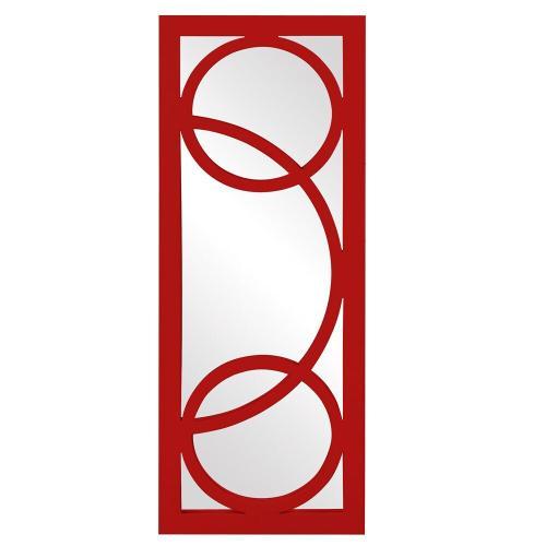 Howard Elliott - Dynasty Mirror - Glossy Red