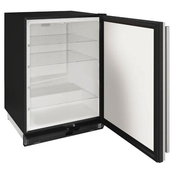 """1024r 24"""" Refrigerator With Stainless Solid Finish (115 V/60 Hz Volts /60 Hz Hz)"""
