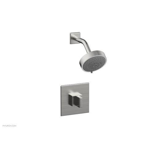 MIX Pressure Balance Shower Set - Blade Handle 290-21 - Satin Chrome