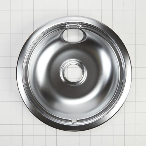 Whirlpool - Electric Range Round Burner Drip Bowl, Chrome